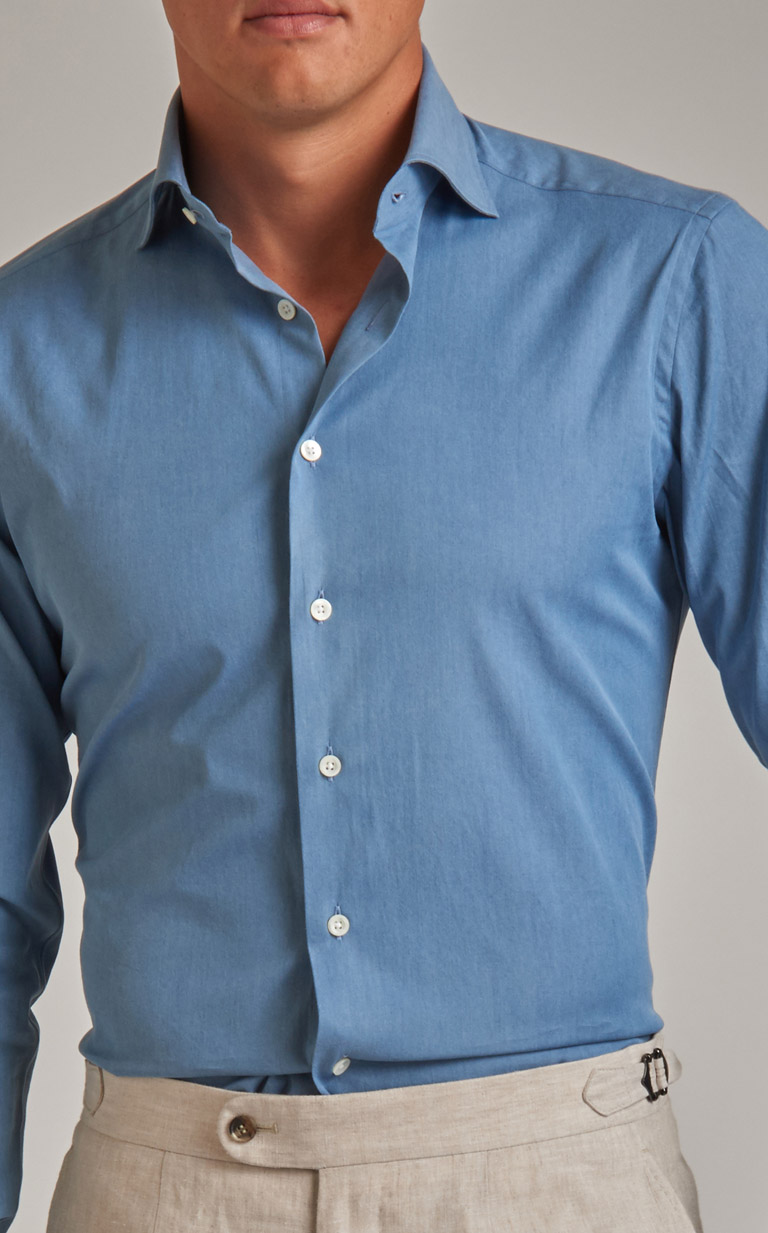 Bespoke dress shirts will ensure the perfect fit