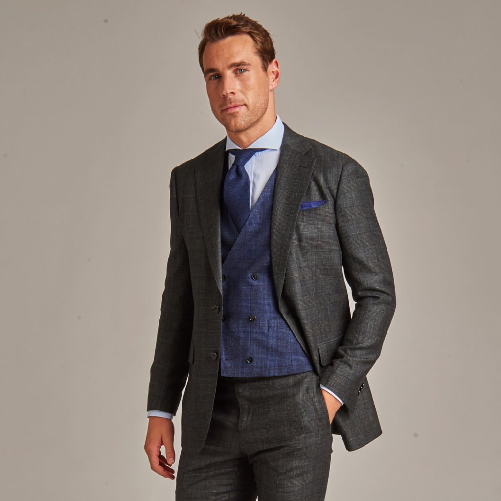 Make a statement in a custom suit
