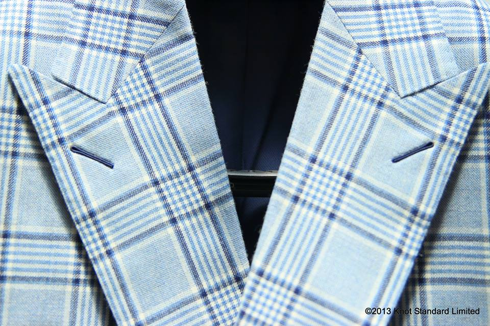 Not everyone can pull off the double-breasted, double-peak-lapel blazer.