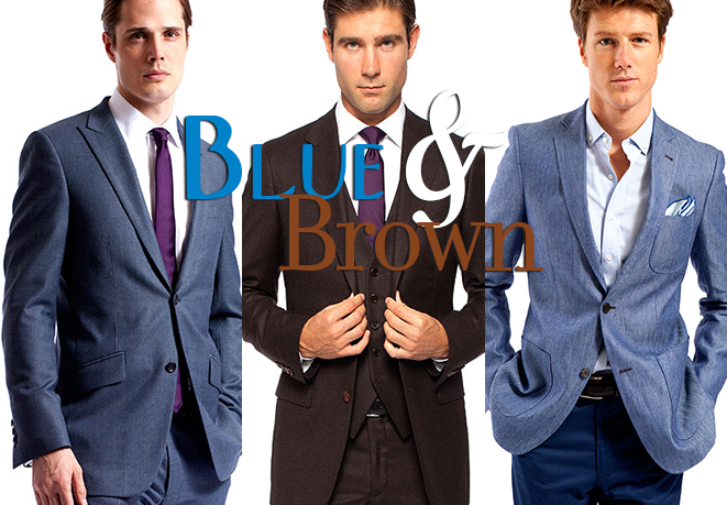 Our 3 Favorite Blue And Brown Combinations Knot Standard Blog