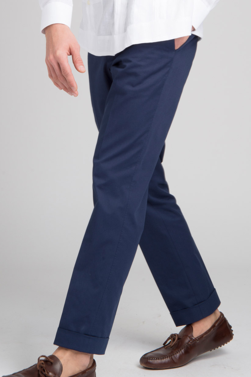 Chino pants can come in bold colors