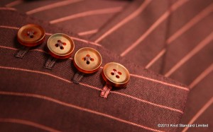 Multicolored Button Thread