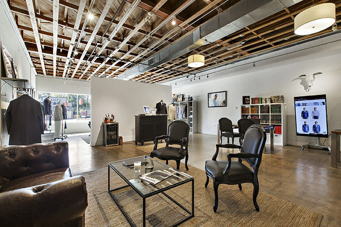 Savor the experience at a Knot Standard showroom