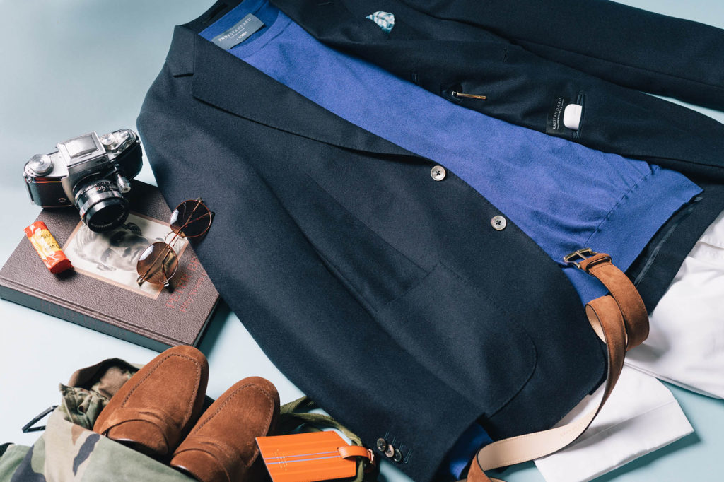 Knot Standard can help you create the best travel outfit in menswear