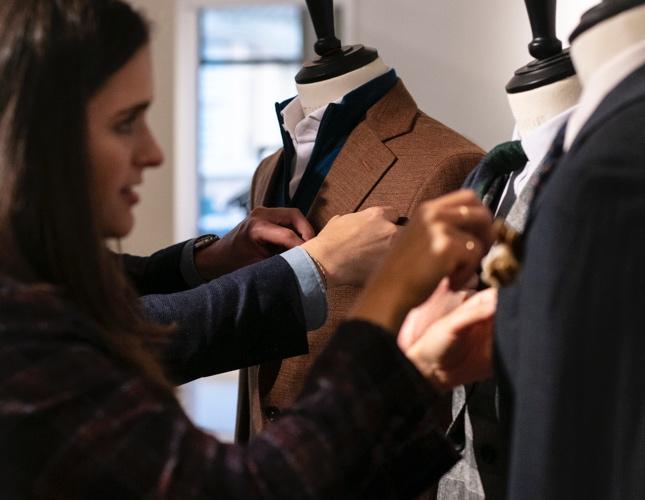 Custom High-End Suits Provide Peerless Fit