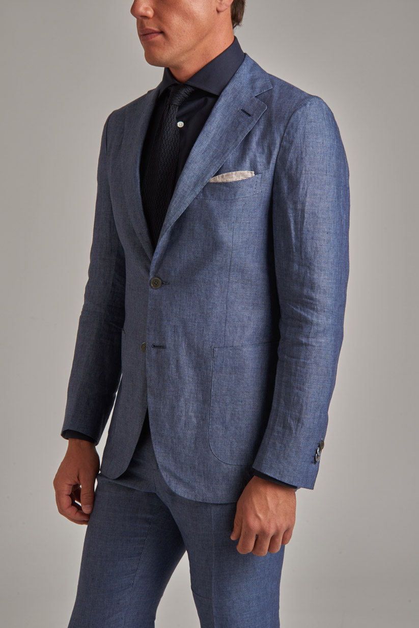 how to store and clean your linen suit