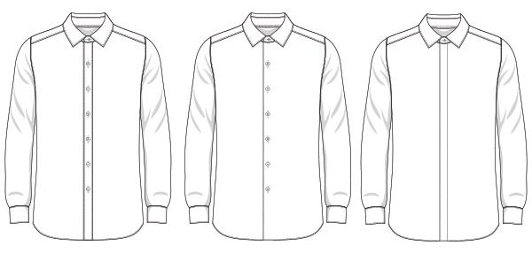 What Is A Shirt Placket Knot Standard Blog