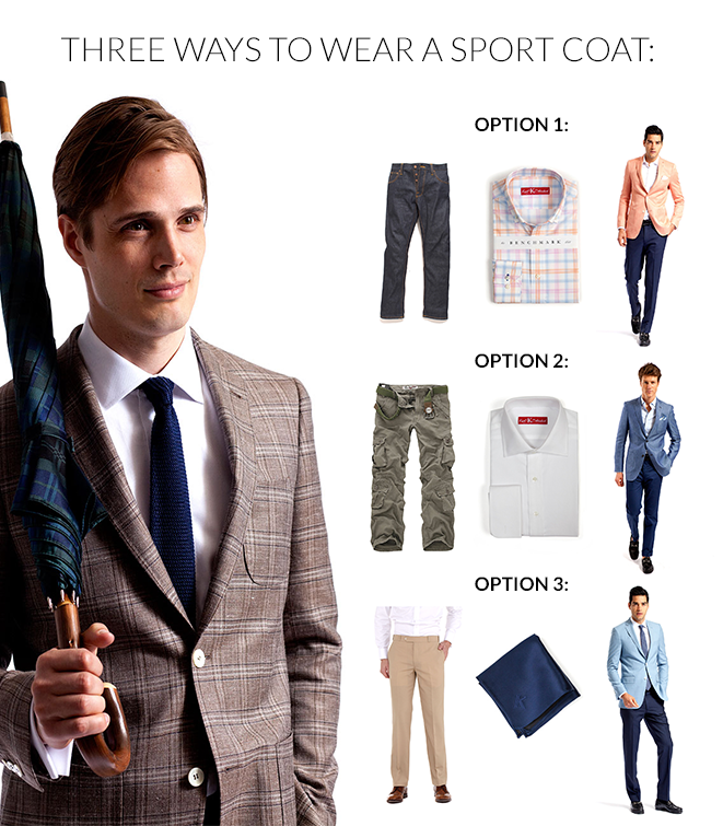 3 Ways to Wear a Sport Coat - Knot Standard Blog